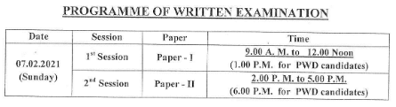 OPSC AEE Exam Details