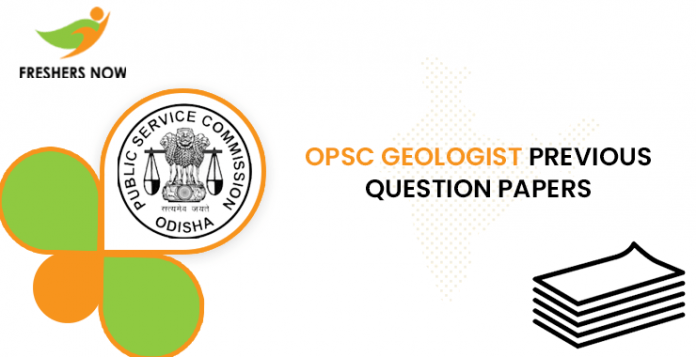 OPSC Geologist Previous Question Papers