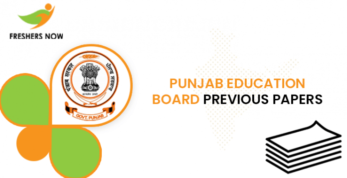 Punjab Board of Education Conference Previous Question Documents