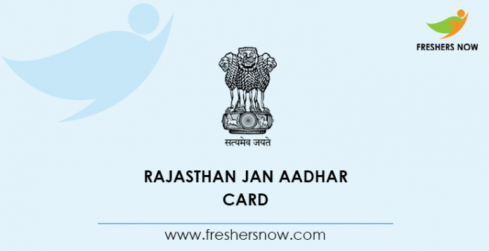 Rajasthan Jan Aadhar Card
