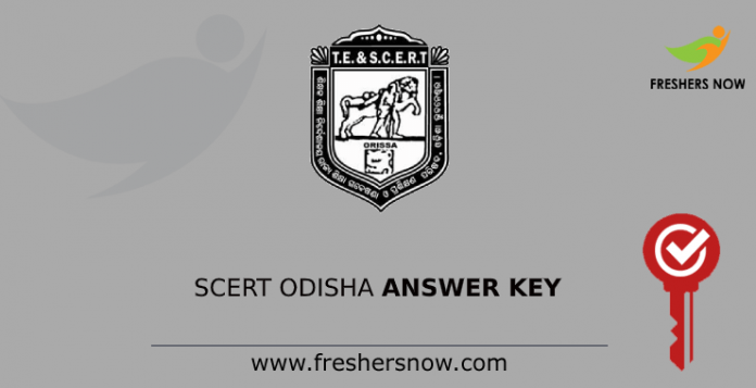 SCERT Odisha Answer Key