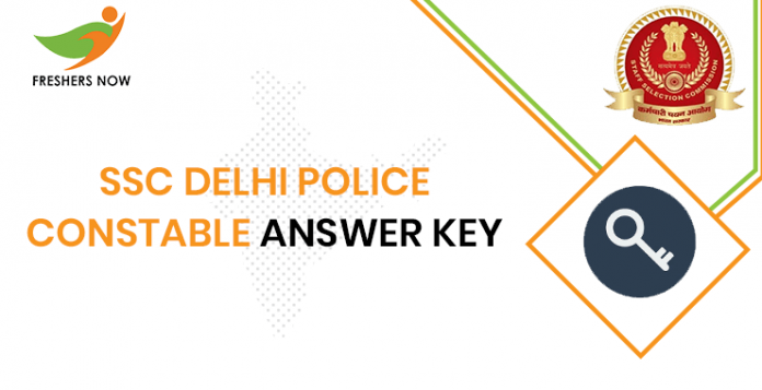 SSC Delhi Police Constable Answer Key
