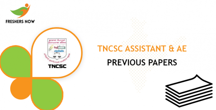 TNCSC Assistant & AE Previous Question Papers