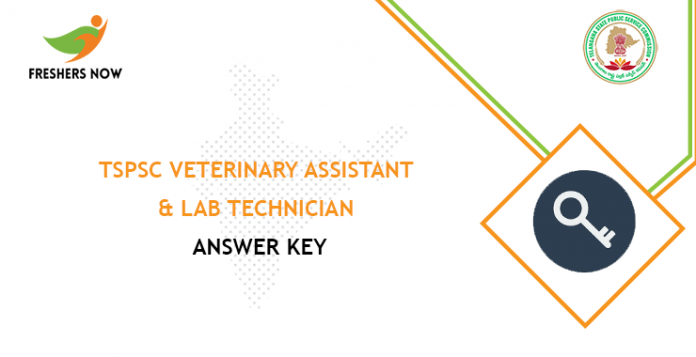 TSPSC Veterinary Assistant Answer Key