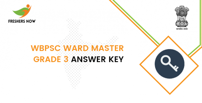 WBPSC-Ward-Master-Grade-3-answer-key