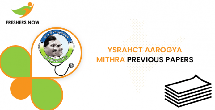YSRAHCT Aarogya Mithra Previous Question Papers