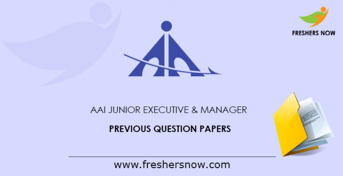 AAI-Junior-Executive-&-Manager-Previous-Question-Papers