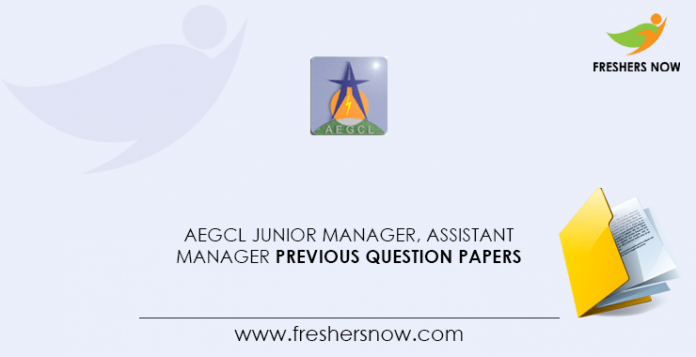 AEGCL-Junior-Manager,-Assistant-Manager-Previous-Question-Papers