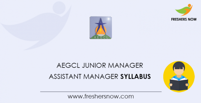 AEGCL-Junior-Manager,-Assistant-Manager-Syllabus