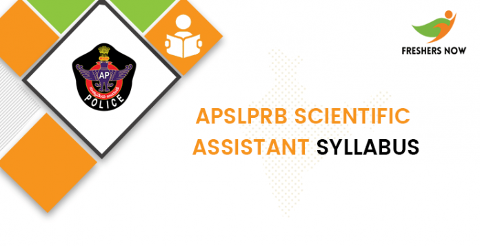 APSLPRB Scientific Assistant Study Program