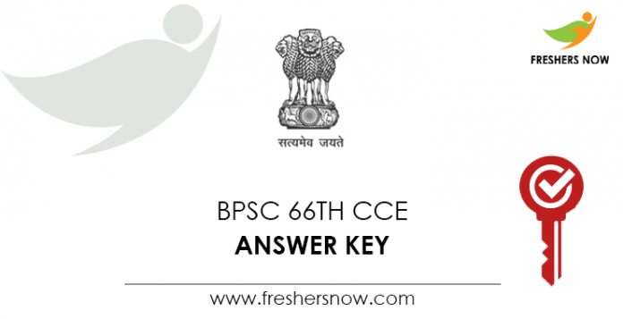 BPSC 66th CCE Answer Key