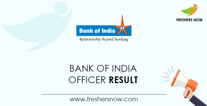 Bank-of-India-Officer-Result