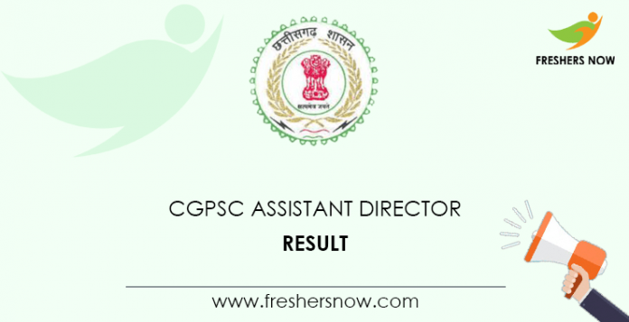 CGPSC-Assistant-Director-Result