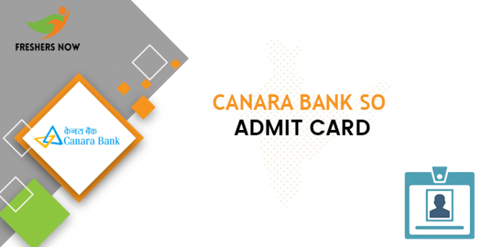 Canara-Bank-SO-admitcard