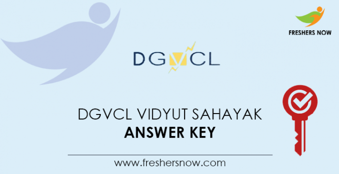 DGVCL-Vidyut-Sahayak-Answer-Key