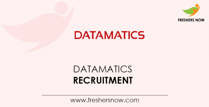 Datamatics-Recruitment