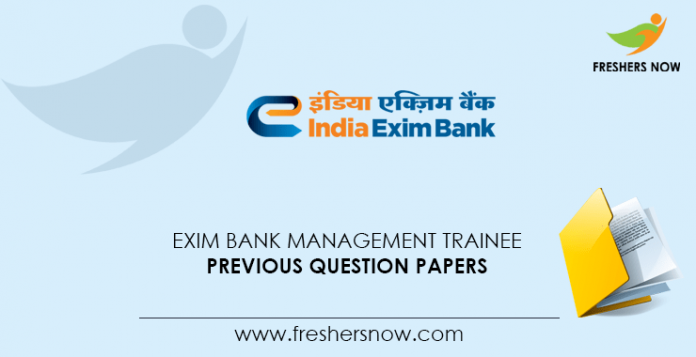 Exim-Bank-Management-Trainee-Previous-Question-Papers