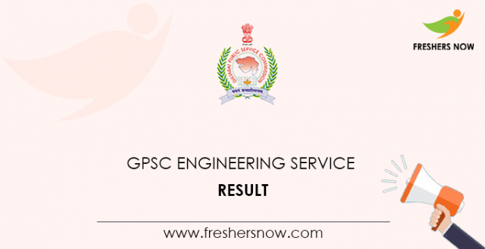 GPSC Engineering Services Result