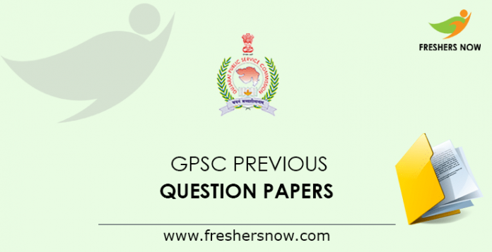 GPSC Assistant Manager Previous Question Papers