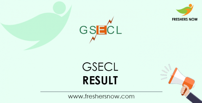 GSECL-Result