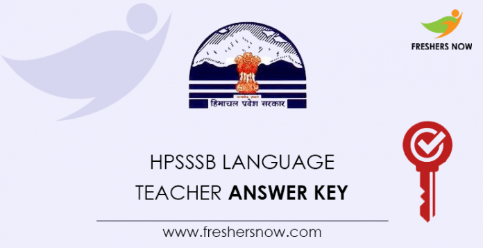 HPSSSB-Language-Teacher-Answer-Key