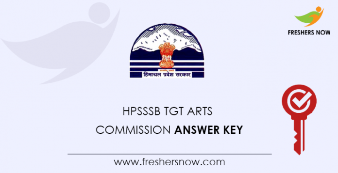 HPSSSB-TGT-Arts-Commission-Answer-Key