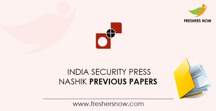 India Security Press Nashik Previous Question Papers