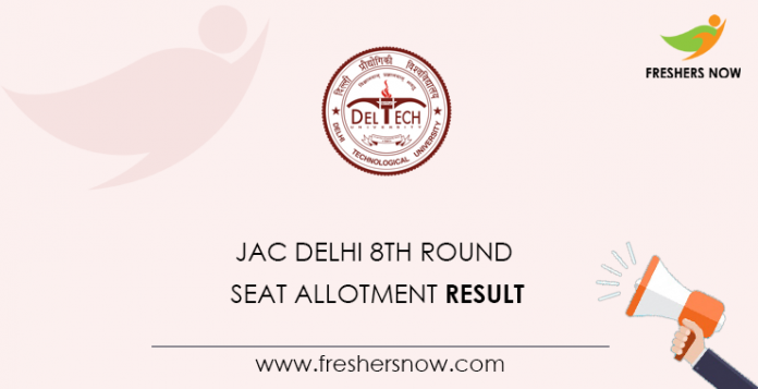 JAC-Delhi-8th-Round-Seat-Allotment-Result