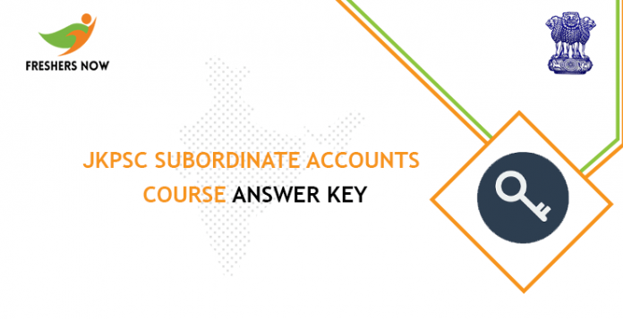 JKPSC-Subordinate-Accounts-Course-answerkey