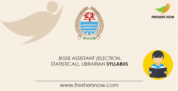 JKSSB-Assistant-(Election,-Statistical),-Librarian-Syllabus