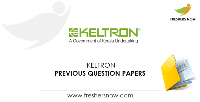 KELTRON Engineer Trainee, Officer, Assistant Manager Previous Question Papers