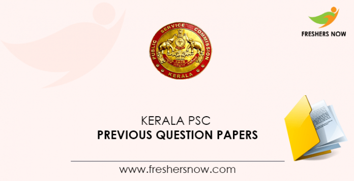 Kerala PSC Junior Language Teacher, Assistant Director of National Savings Previous Question Papers