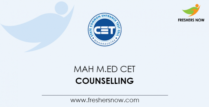 MAH M.Ed CET Counselling