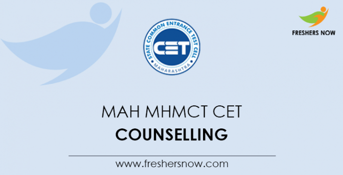 MAH MHMCT CET Counselling