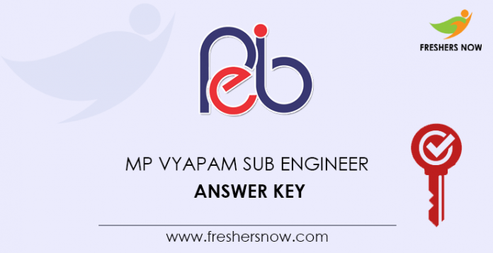 MP-Vyapam-Sub-Engineer-Answer-Key