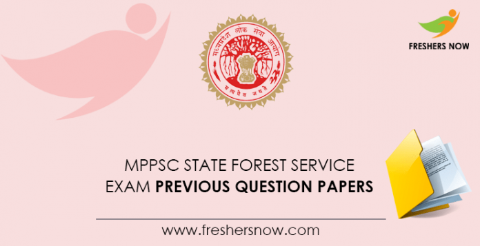 MPPSC State Forest Service Exam Previous Question Papers
