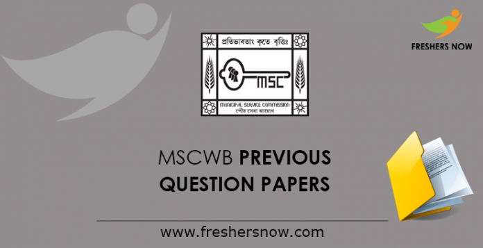 MSCWB-Previous-Question-Papers
