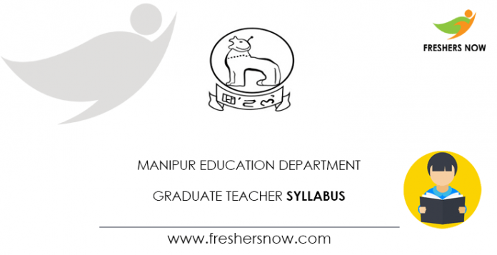 Manipur Education Department Graduate Teacher Syllabus