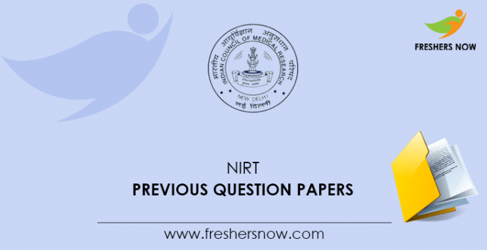 NIRT Previous Question Papers