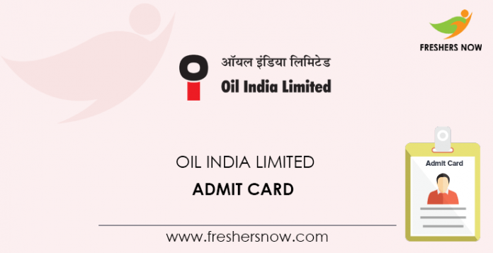 Oil-India-Limited-Admit-Card