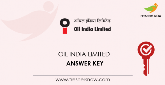 Oil-India-Limited-Answer-Key