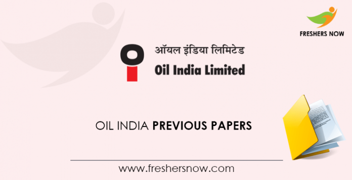 Oil-India-Previous-Papers