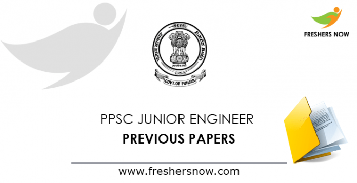 PPSC Junior Engineer Previous Papers