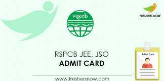 RSPCB-JEE,-JSO-Admit-Card