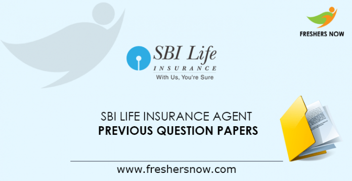 SBI Life Insurance Agent Life Mitra Previous Question Papers