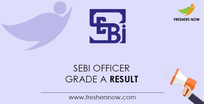 SEBI Officer Grade A Result