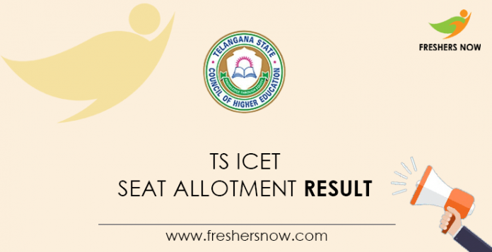 TS ICET Seat Allotment Result