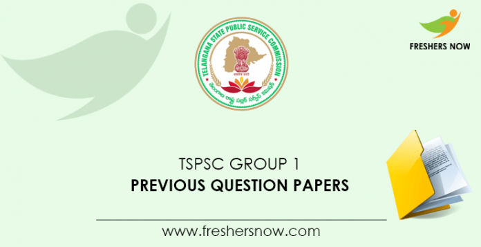 TSPSC Group 1 Previous Question Papers