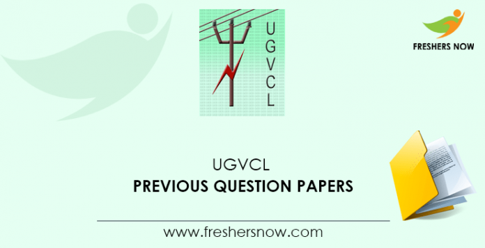 UGVCL Junior Engineer Previous Question Papers