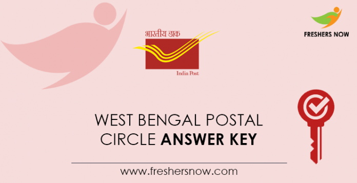 West Bengal Postal Circle Answer Key